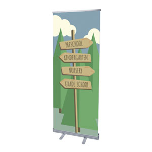 Woodland Friends Directional Banners