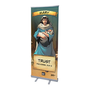 The Action Bible VBS Mary Banners