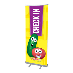 VeggieTales Check In Banners