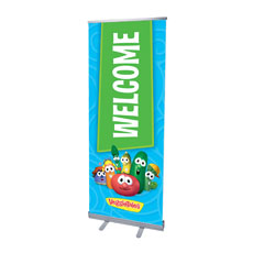 VeggieTales Welcome Banner