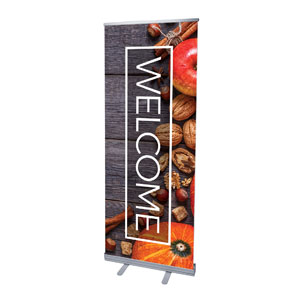 Wooden Slats Fall Banners