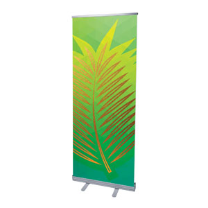 "Bold Iconography Palm Branch 2'7"" x 6'7""  Vinyl Banner"