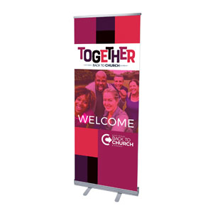 "BTCS Together 2'7"" x 6'7""  Vinyl Banner"