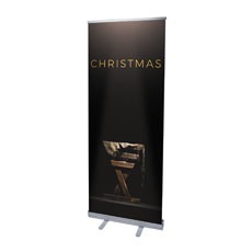 Gold Christmas Manger