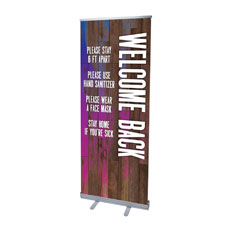 Colorful Wood Welcome Guidelines