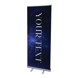 "Begins With Christ Manger Your Text 2'7"" x 6'7""  Vinyl Banner"