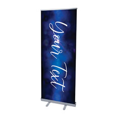 Celebrate Christmas Blue Sparkle Your Text