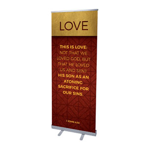 "Celebrate The Season Advent Scripture 2'7"" x 6'7""  Vinyl Banner"