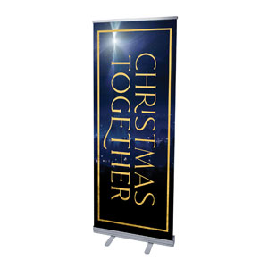 "Christmas Together Night 2'7"" x 6'7""  Vinyl Banner"