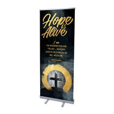 Hope Is Alive Gold Scripture