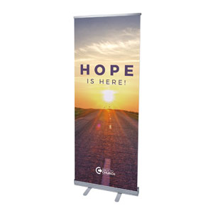 "BTCS Hope Is Here 2'7"" x 6'7""  Vinyl Banner"
