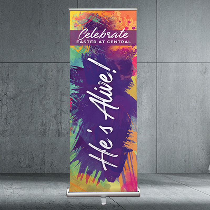 Banners, 2'7 x 6'7 Banner: Your Design, 2'7 x 6'7