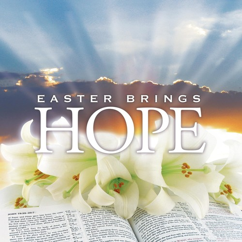 Banners, Easter, Easter Brings Hope, 3' x 3'