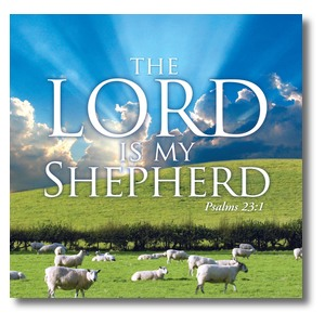 Lord My Shepherd Banners