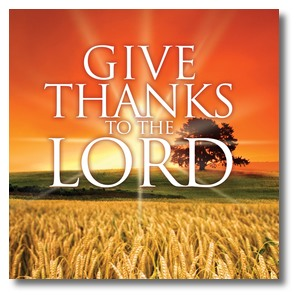 Give Thanks Lord Banners