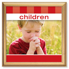 Stripes Children Banner
