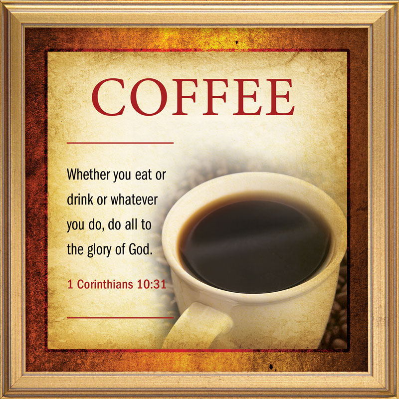 Verses Coffee Banner Church Banners Outreach Marketing
