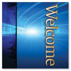 Light Rays Welcome Banner
