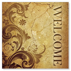 Cornerstone Welcome Banner
