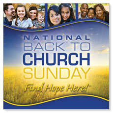 Back To Church Sunday 2012 Banner