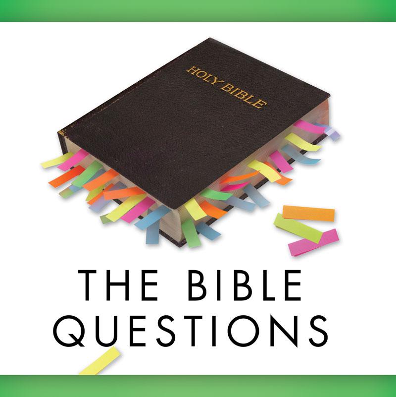 Church Banner The Bible Questions 3 X 3 Outreach