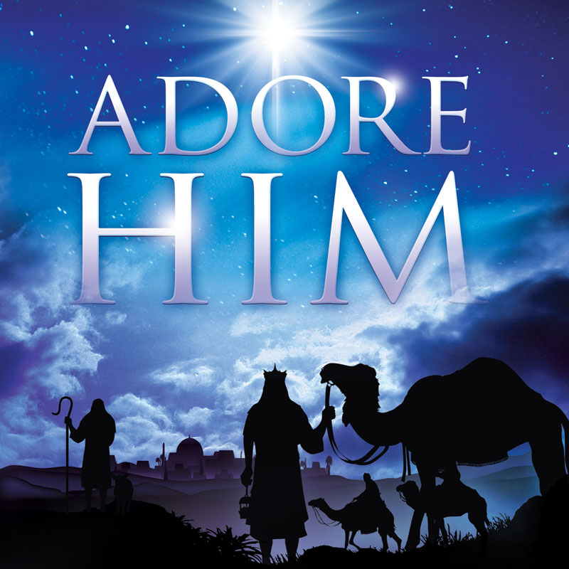 Adore Him Banner Church Banners Outreach Marketing