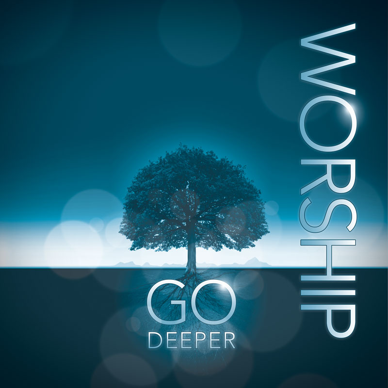 Deeper Roots Worship Vertical Banner Church Banners