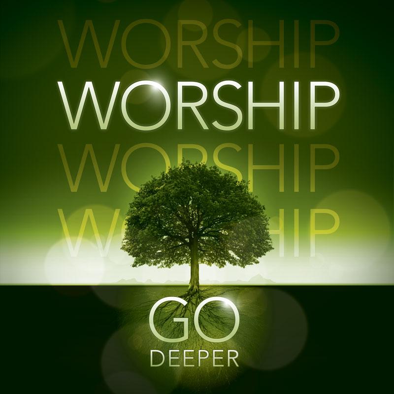 Deeper Roots Worship Horizontal Banner - Church Banners ...