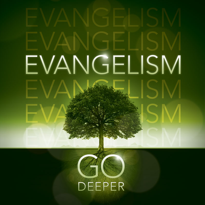 Church Banner Deeper Roots Evangelism 3 X 3 Outreach