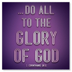Words 1 Cor 10:31