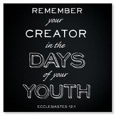 Chalk Eccl 12:1 Banner
