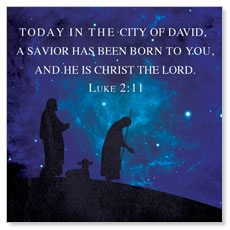 Celebrate the King Lk 2:11 Banner
