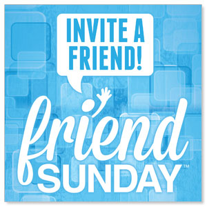 Friend Sunday Invite StickUp