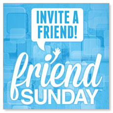 Friend Sunday Invite Banner