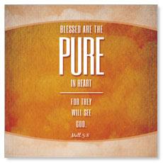 Celestial Matt 5:8 Banner
