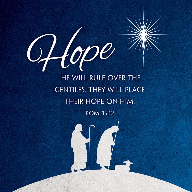 Advent Hope Banner - Church Banners - Outreach Marketing