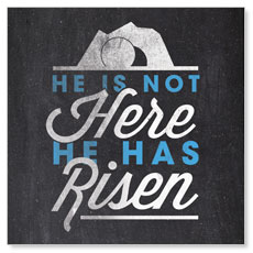 Easter Risen Banner