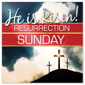 Risen Resurrection StickUp