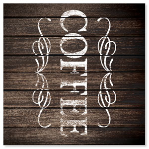 Rustic Charm Coffee StickUp