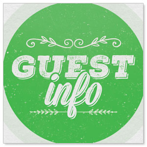 Guest Circles Info Green  StickUp