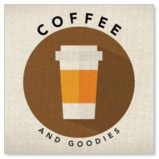 Burlap Coffee Banner