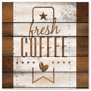 Barn Wood Coffee StickUp