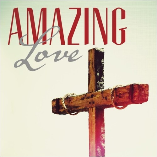 Amazing Love Cross Banner Church Banners Outreach