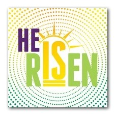 He Is Risen Dots