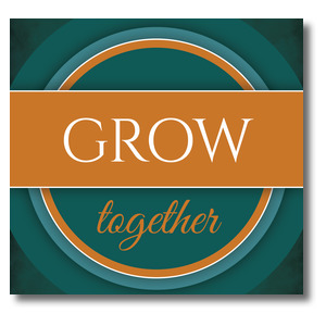 Together Circles Grow Banners