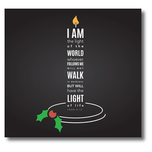 Light of the World Candle StickUp