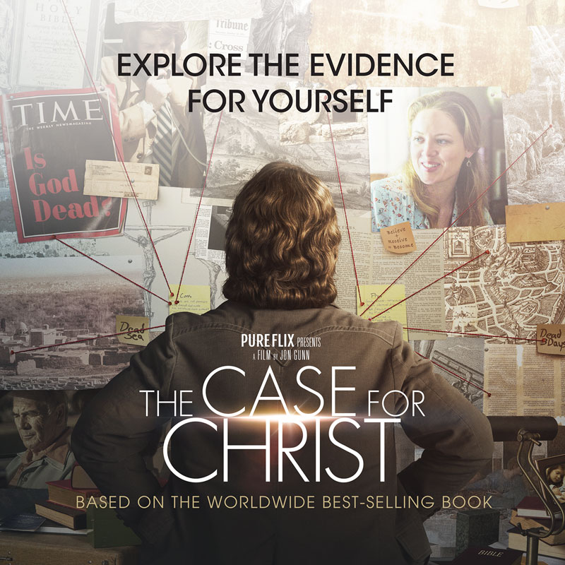 The Case for Christ Movie Vinyl Banner