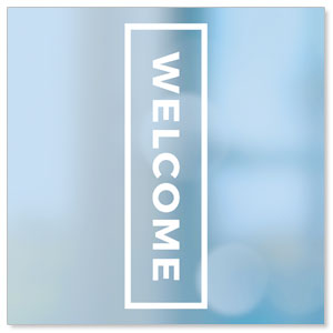 Shimmer Welcome StickUp