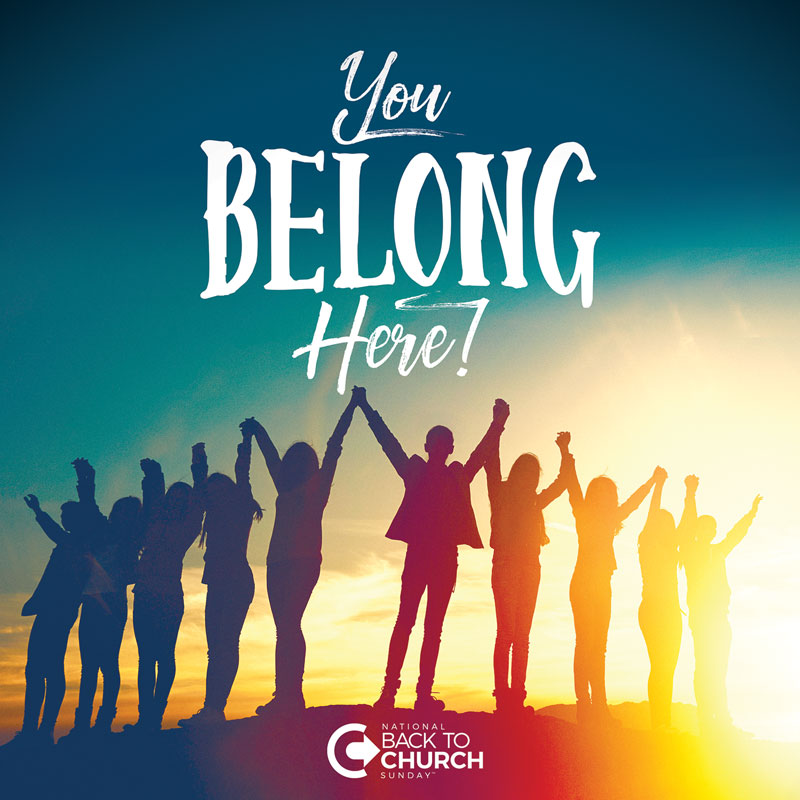btcs you belong here banner - church banners
