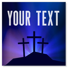 Aurora Lights Celebrate Easter Your Text